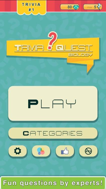 Trivia Quest™ Biology - trivia questions