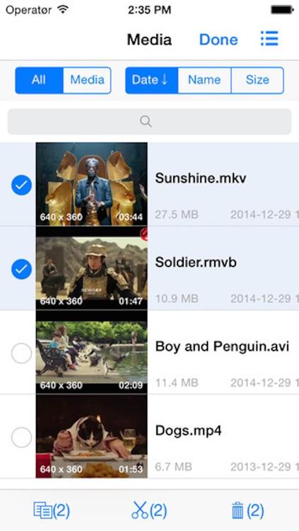Quick Player - full featured media center screenshot-3