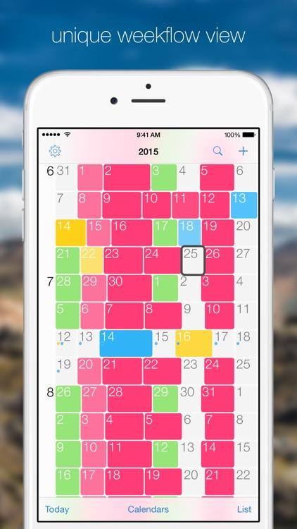 weekflow 2 – visual calendar