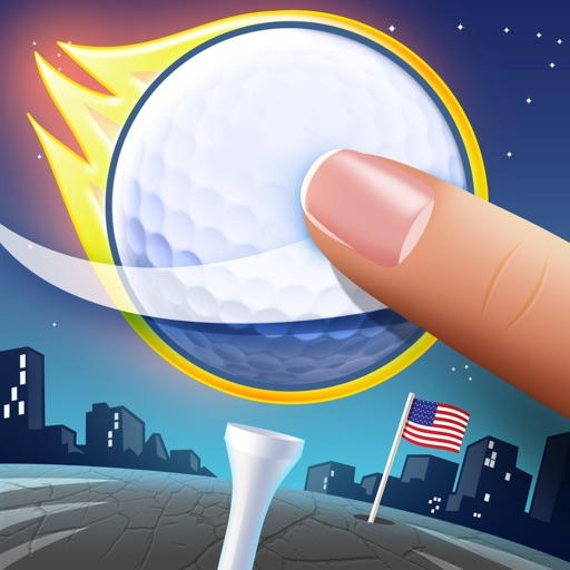 Flick Golf Extreme! HD icon