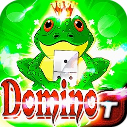 Roller Pad King Frog Dominoes Game - Free HD Easy Live Casino Fun Free Dominoes Pro Edition