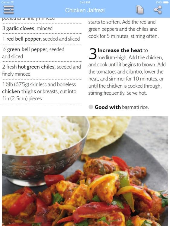 Low Calorie Recipes for iPad screenshot-3