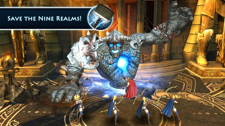 Thor: The Dark World - The Official Game screenshot-4