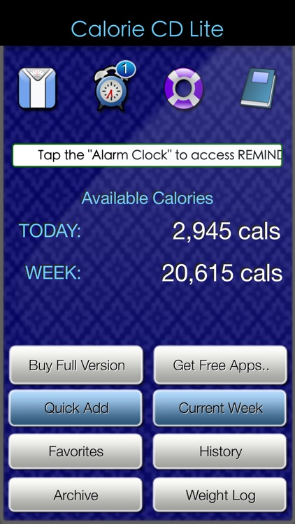 Calorie Count Down Lite
