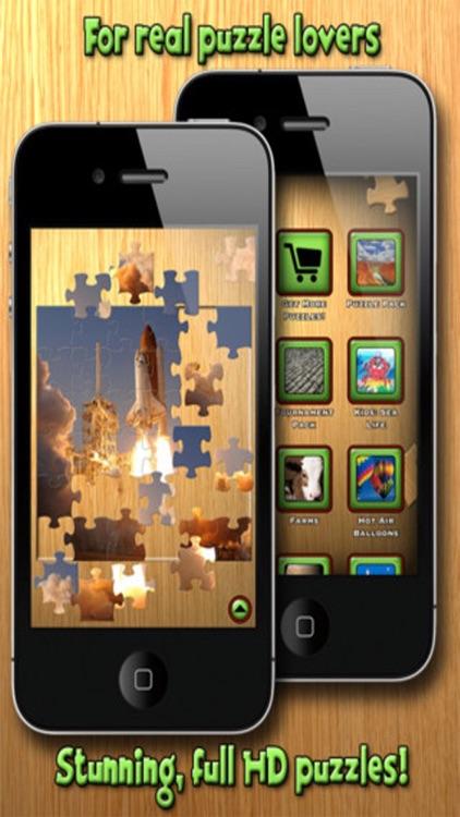 Amazing Finger Power Jigsaws screenshot-3