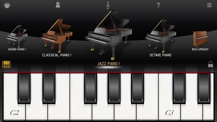 iGrand Piano FREE screenshot-0