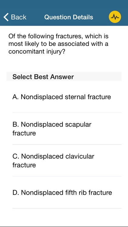 TSRA Multiple Choice Review of Cardiothoracic Surgery screenshot-3