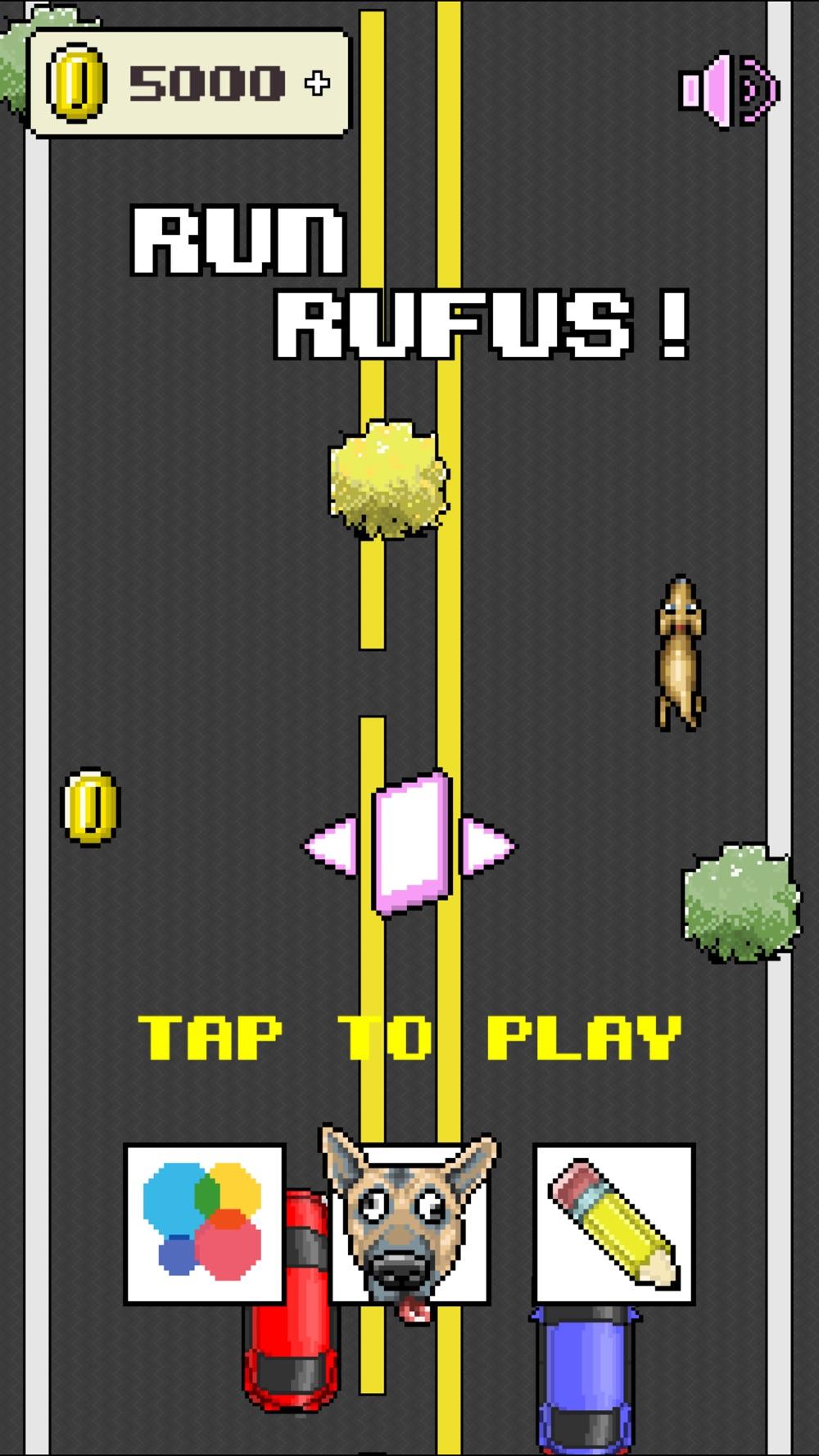 Run Rufus: A Tilting, Chasing Game Cheat Codes