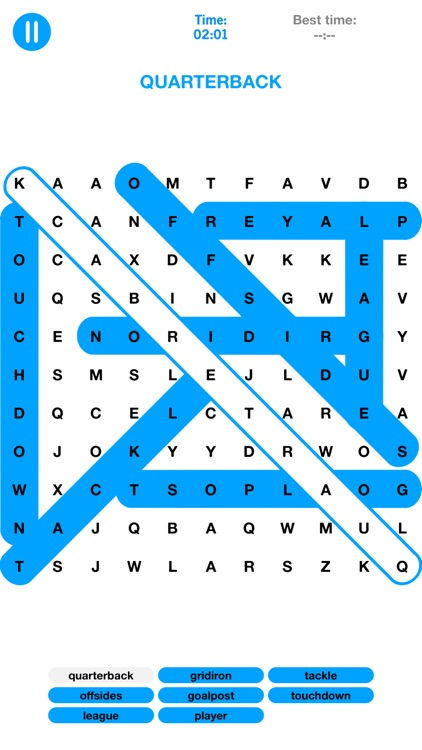Word Search - Puzzle Game - Spot the Words