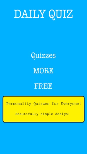 Daily Quiz - Personality Test and Fun Quizzes Every Day on