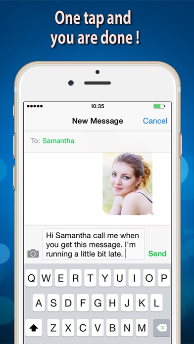 Voice SMS Screenshot