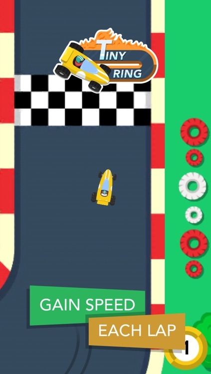 Tiny Ring : one-touch racing challenge screenshot-3