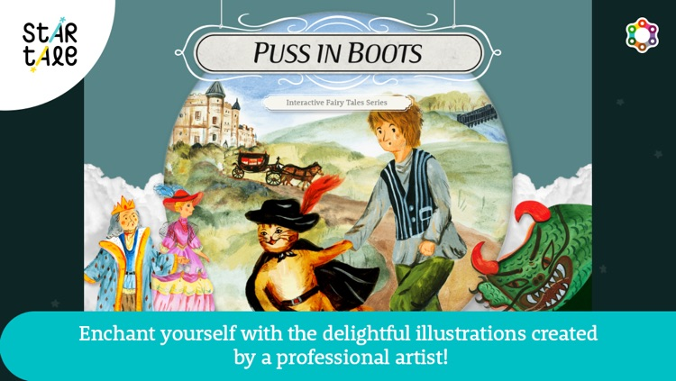 Puss in Boots : Star Tale - Interactive Fairy Tales for Kids