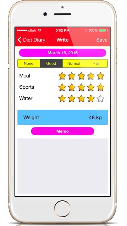 Diet Diary - Health