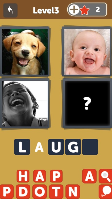 OMG Guess What - Pics to words puzzle Quiz, find 1 word from 4 picture in this free family pic gameのおすすめ画像2