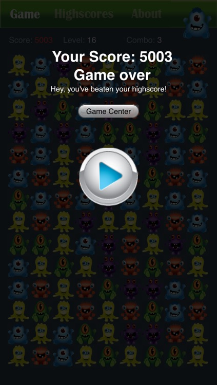 Monster Party Popping Puzzle Game Free - Halloween edition screenshot-4