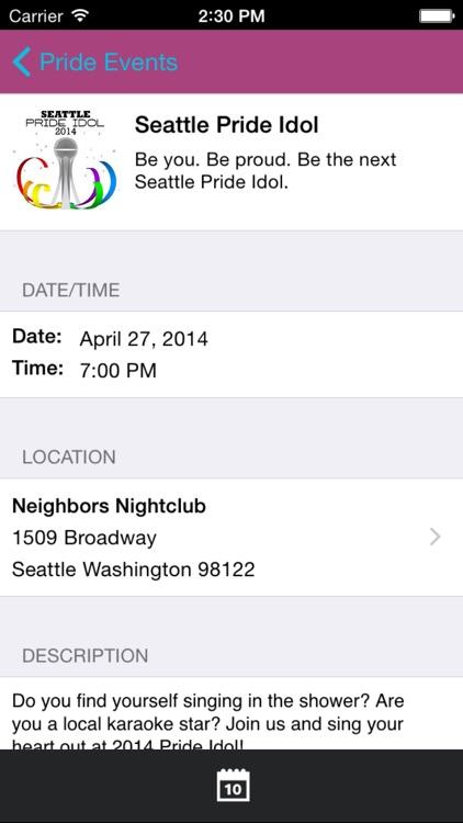 Seattle Pride screenshot-4