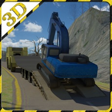 Activities of Excavator Transporter Rescue 3D Simulator- Be ready to rescue cars in this extreme high powered exca...