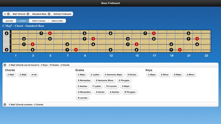 Bass Scales screenshot-1