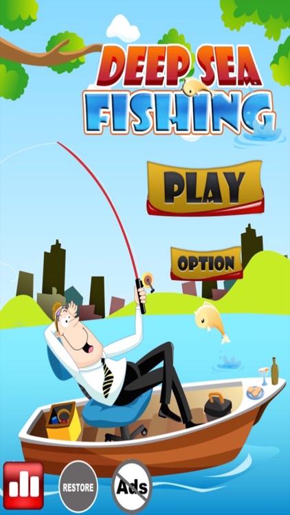 Deep Sea Fishing - Dolphin Play Time