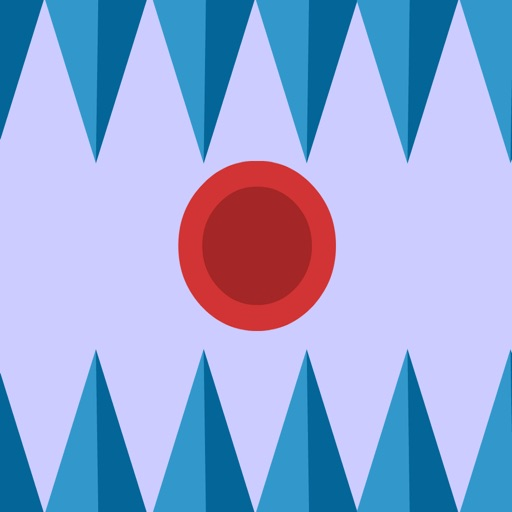 Super Bouncing Red Ball - Avoid The Spikes (Pro)