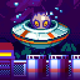 UFO Complex - Sky Ray Alien Rescue Survival!