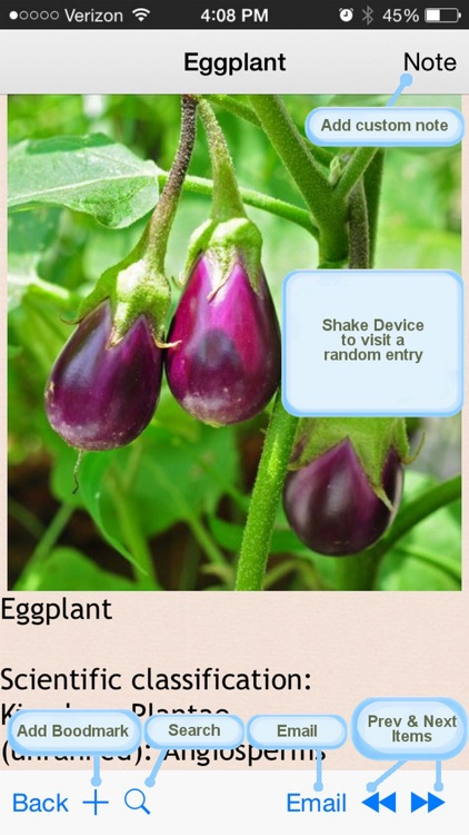Edible Plants Encyclopedia screenshot-3