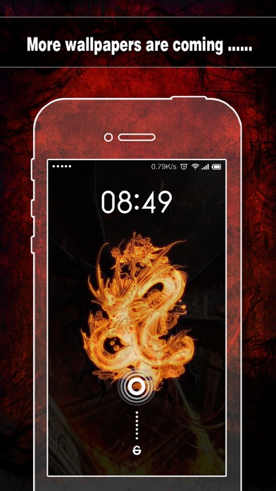 Dragon Wallpapers, Backgrounds & Themes - Home Screen Maker with Cool HD Dragon Pics for iOS 8 & iPhone 6のおすすめ画像5