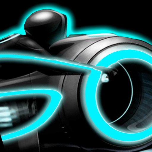 Turbo Mania Pro : Persecution Racing Neon 3D Bike