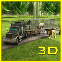 运输卡车:野生动物