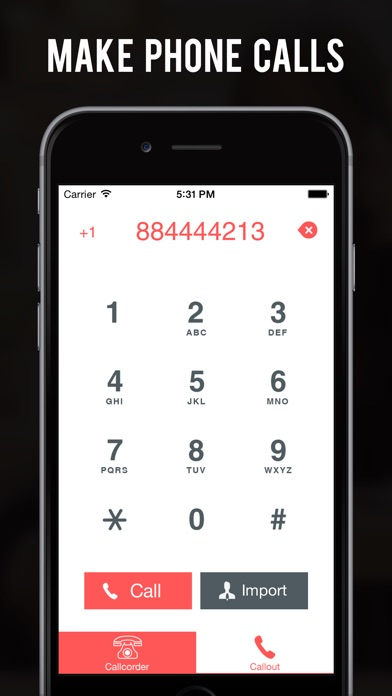 Callcorder Pro: 受信&送信... screenshot1
