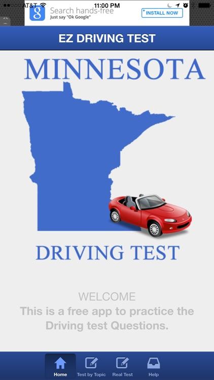 Minnesota Basic Driving Test by Augustine Joseph Alucious