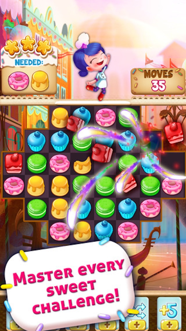 Cookie Cake Smash - 3 match puzzle game screenshot four