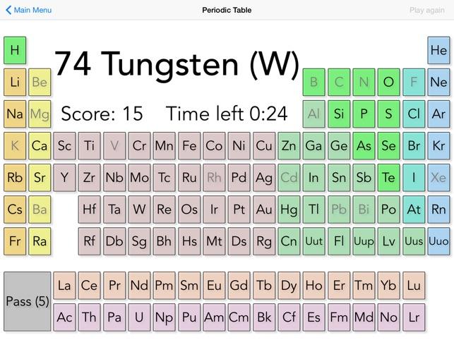 Qumica en 1 minuto tabla peridica gratis en app store urtaz Images