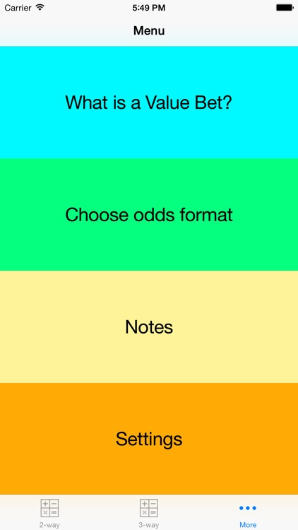 Value Bet Calculator Pro screenshot-3