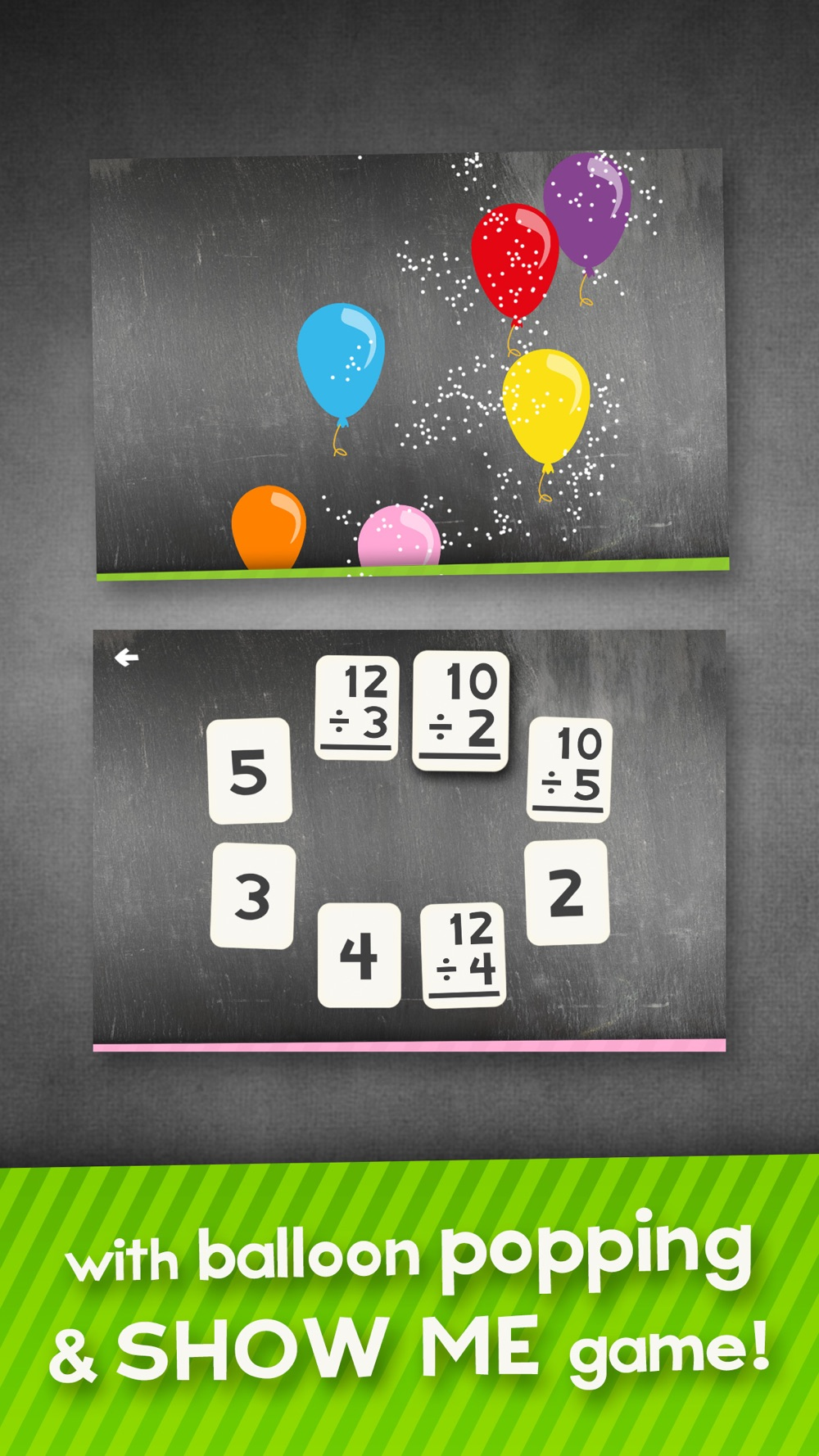 Division Flashcard Match Games for Kids in 2nd, 3rd and 4th Grade Learning Flash Cards Free hack tool