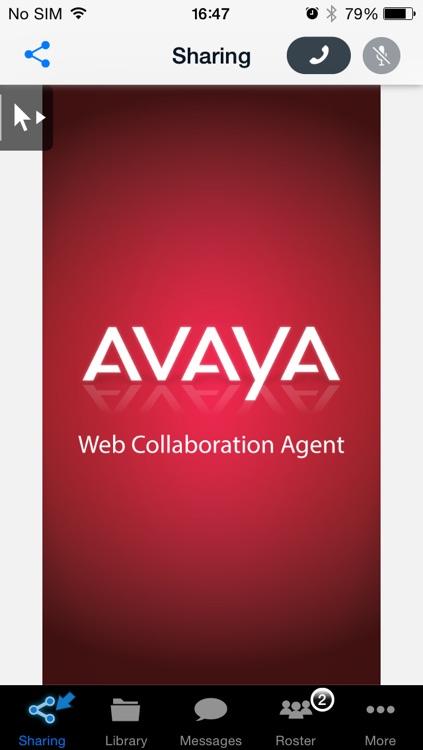 Avaya Web Collaboration Agent