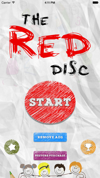 download The Red Disc - Don't tap on red disc apps 0