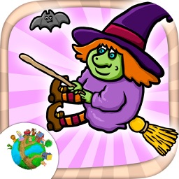Halloween -  fun zombie mini games for kids