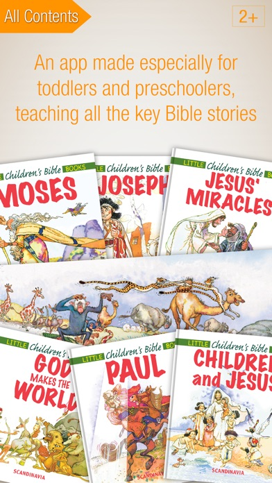 download Kids Bible Premium - Complete Edition with 24 Bible Story Books and Audiobooks for Preschoolers apps 2