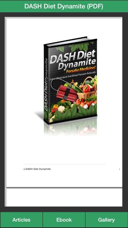 Dash Diet Plan - Lower High Blood Pressure Naturally With Dash Diet!