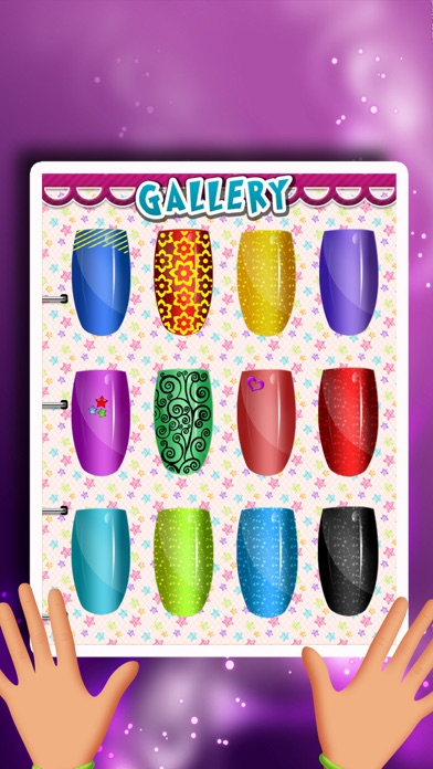Cinderella's Woods Nail Salon - Beauty Make-Over Design & Fashion Manicure Dress-Up (Free Maker Games for Girls)のおすすめ画像3