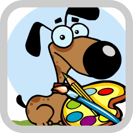 Coloring for Kids 1 - Fun color & paint on drawing game for boys & girls iOS App