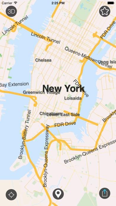 Iphone Map Of New York Offline.New York Offline Map City Guide W Metro By Ignacio Z Ios