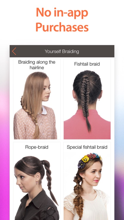 WOW Hairstyles Premium! 400+ Braid Hair Tutorials for Girls and Ladies with Step-by-Step Photos screenshot-3
