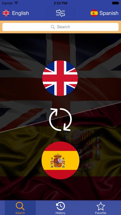 Dictionary English-Spanish 2015 - Free & Offline screenshot one