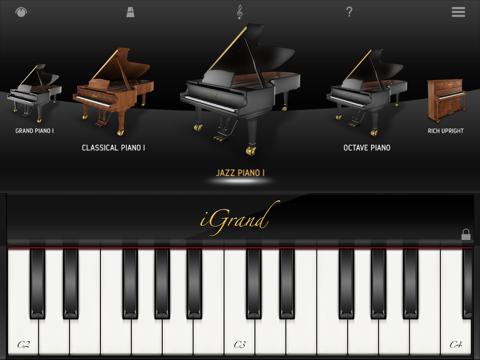 Screenshot #4 pour iGrand Piano for iPad