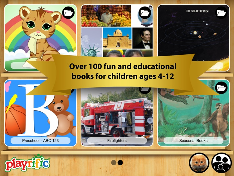 Kids Books - Interactive Reading and Learning Childrens Story EBooks by Playrific