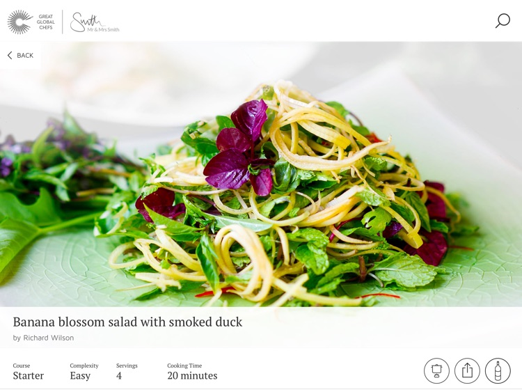 Great Global Chefs - Recipes