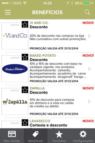 Clube Corporate screenshot 3